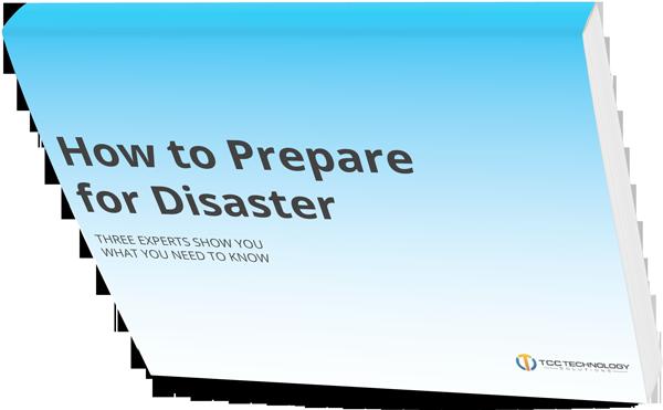 Prepare for Disaster